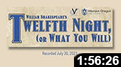 Valley Shakespeare: Twelfth NIght (or What You Will)