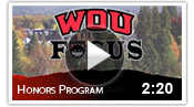 WOU Focus: Honors