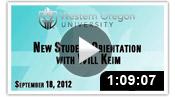 New Student Orientation 2012 - Will Keim