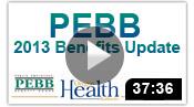 PEBB 2013 Benefits
