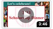 Scholarship Dinner 2013