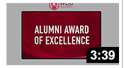 163rd Commencement: Alumni Award of Excellence 2020