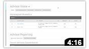 WCS Create Advising Report