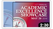 Academic Excellence Showcase 2016