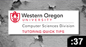 Computer Science Tutoring Quick Tips