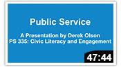 Civic Literacy & Engagement