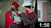 Commencement 2021: In-person Highlights