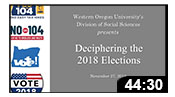 Deciphering the 2018 Elections
