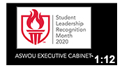 Student Leadership Recognition Month 2020: ASWOU Executive Cabinet