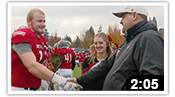 WOU Football Seniors 2016