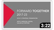 Forward Together: WOU's Strategic Plan 2017-23