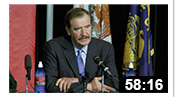 Vicente Fox Press Conference