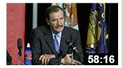 Vicente Fox Press Conference