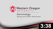 Gerontology: Aging Is Our Future
