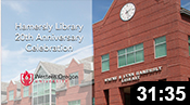 Hamersly Library 20th Anniversary Celebration