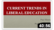 Current Trends in Liberal Education