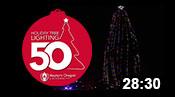 50th Holiday Tree Lighting 2017