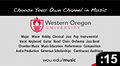 WOU Music: Choose Your Own Channel