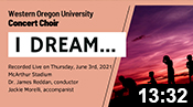 WOU Concert Choir: Spring 2021