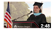 WOU's 2017 Outstanding Graduate Student