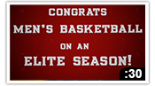 Congrats Men's Basketball