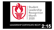 Student Leadership Recognition Month 2020: Leadership Certificate Recipients