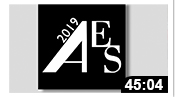 AES 2019: Presidential Plenary