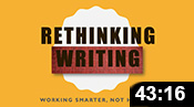 Rethinking Writing