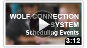 WCS Scheduling Events