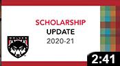 Scholarship Update 2020-21