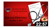 Student Health and Counseling Center Grand Opening