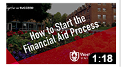 WOU Financial Aid Part 1