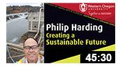 Creating a Sustainable Future: Philip Harding